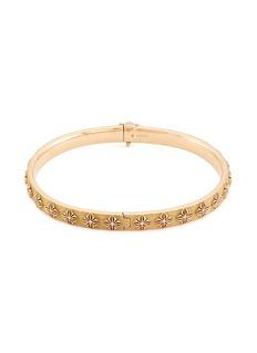 Shamballa Jewels 'SOS' diamond 18k gold bangle