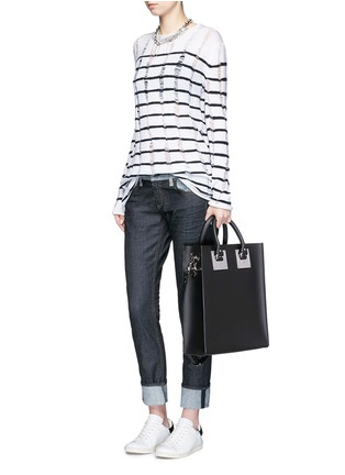Figure View - Click To Enlarge - Sophie Hulme - 'Albion' rectangle leather box tote