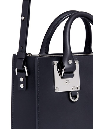 Detail View - Click To Enlarge - SOPHIE HULME - 'Albion Square' leather box tote