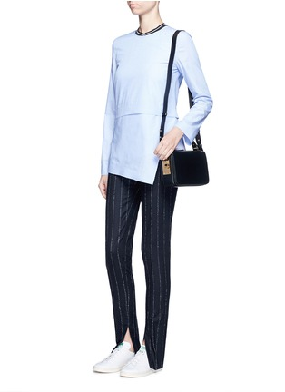 Figure View - Click To Enlarge - Sophie Hulme - 'Finsbury' leather shoulder bag