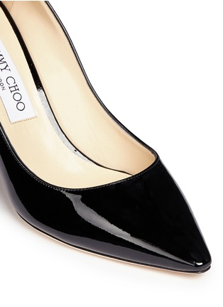 Detail View - Click To Enlarge - Jimmy Choo - 'Romy' patent leather pumps