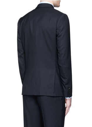 Back View - Click To Enlarge - PAUL SMITH - 'Soho' wool travel suit