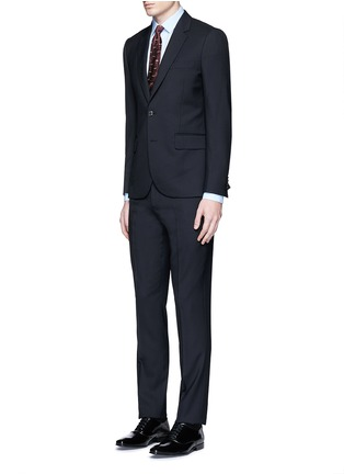 Figure View - Click To Enlarge - PAUL SMITH - 'Soho' wool travel suit