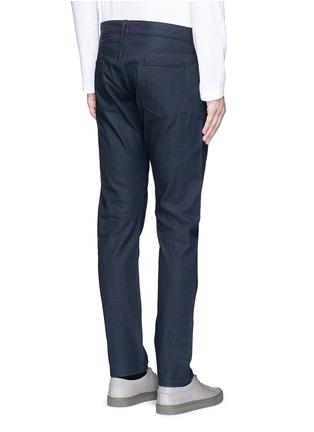 Back View - Click To Enlarge - Simon Miller - 'Gunnison' dark indigo slim cotton jeans