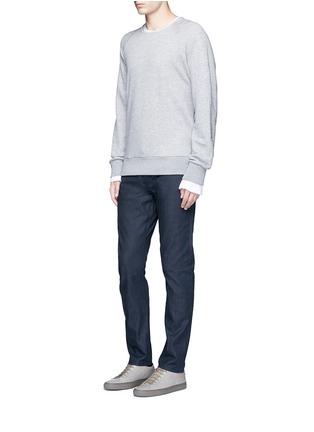 Figure View - Click To Enlarge - Simon Miller - 'Gunnison' dark indigo slim cotton jeans