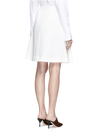 Back View - Click To Enlarge - Co - Pleated crepe skirt