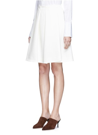 Front View - Click To Enlarge - Co - Pleated crepe skirt