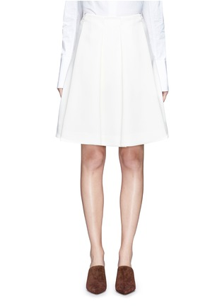 Main View - Click To Enlarge - Co - Pleated crepe skirt