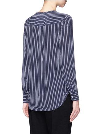 Back View - Click To Enlarge - Equipment - 'Lynn' stripe silk shirt