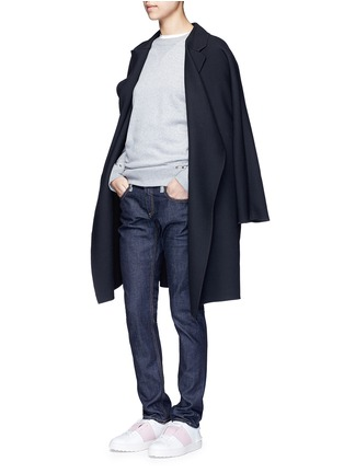 Figure View - Click To Enlarge - Valentino - 'Rockstud Untitled 08' cotton blend sweatshirt