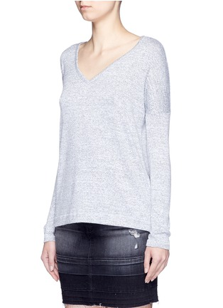 Front View - Click To Enlarge - rag & bone/JEAN - 'Theo' V-neck T-shirt
