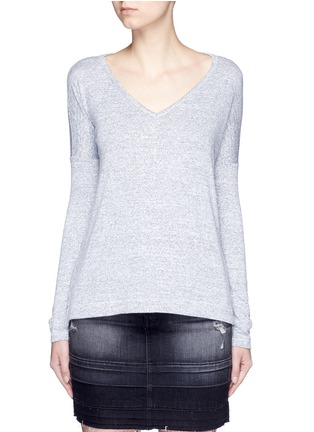 Main View - Click To Enlarge - rag & bone/JEAN - 'Theo' V-neck T-shirt