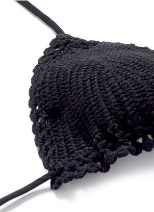 Detail View - Click To Enlarge - ZIMMERMANN - 'Sakura Crochet' mismatched bikini set