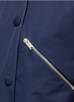 Detail View - Click To Enlarge - STELLA MCCARTNEY - Zip pocket technical parka jacket