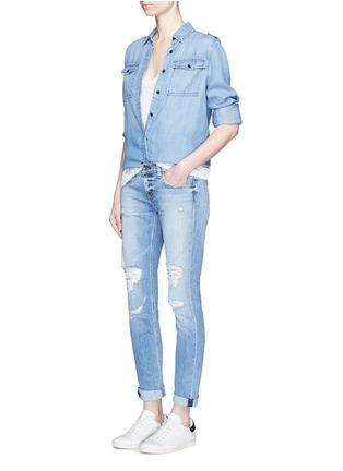 Figure View - Click To Enlarge - rag & bone/JEAN - 'The Dre' slim boyfriend jeans