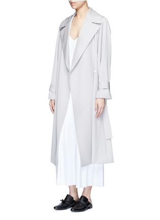 Figure View - Click To Enlarge - THE ROW - 'Morin' cotton poplin maxi dress
