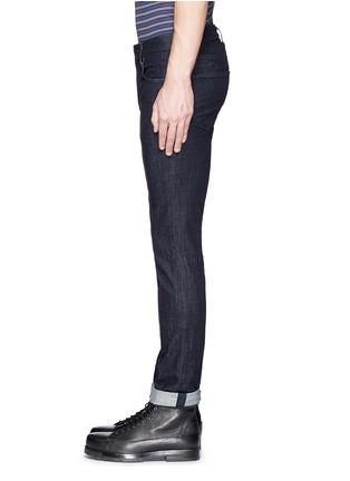 Detail View - Click To Enlarge - J Brand - 'Kane' resin denim jeans