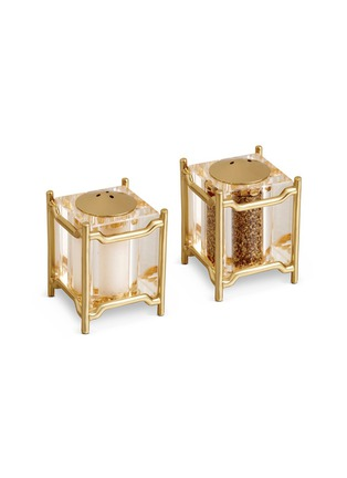 Main View - Click To Enlarge - L'Objet - Han Salt and Pepper Shakers - Gold