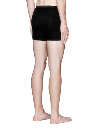 Back View - Click To Enlarge - ZIMMERLI - '252 Royal Classic' jersey boxer briefs