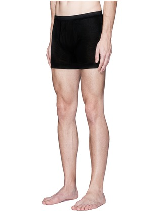 Figure View - Click To Enlarge - ZIMMERLI - '252 Royal Classic' jersey boxer briefs