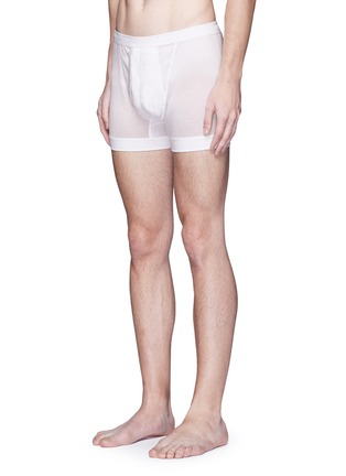 Figure View - Click To Enlarge - ZIMMERLI - 252 Royal Classic' cotton jersey boxers