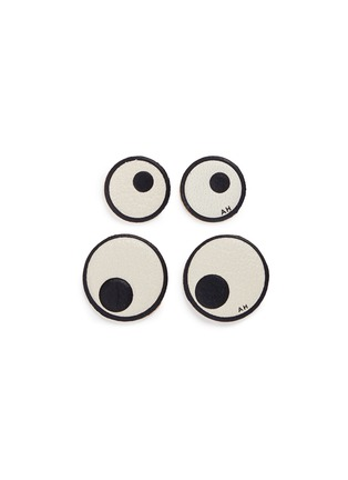 Main View - Click To Enlarge - Anya Hindmarch - x CHAOS FASHION 'Eyes' leather sticker set
