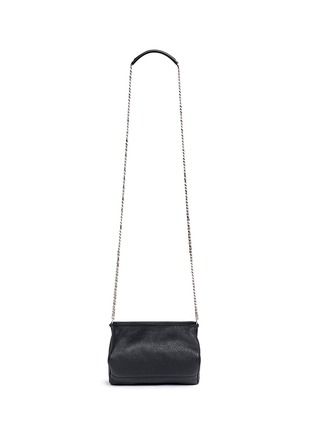 Back View - Click To Enlarge - GIVENCHY - 'Pandora' mini chain goat leather bag