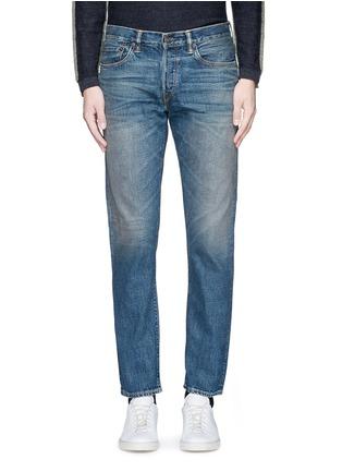 Detail View - Click To Enlarge - SIMON MILLER - 'Park View' vintage medium wash slim jeans