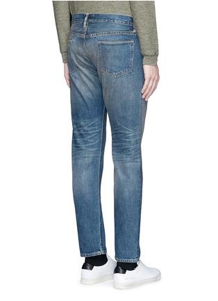 Back View - Click To Enlarge - SIMON MILLER - 'Park View' vintage medium wash slim jeans