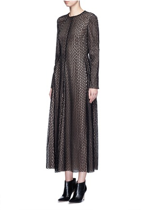 Front View - Click To Enlarge - Lanvin - Eyelet broderie anglaise dress