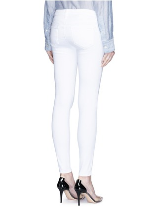 Back View - Click To Enlarge - L'Agence - 'The Chantal' skinny ankle grazer jeans