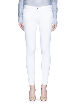 Main View - Click To Enlarge - L'Agence - 'The Chantal' skinny ankle grazer jeans