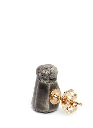 Detail View - Click To Enlarge - Venessa Arizaga - 'Season's Greetings' stud earrings
