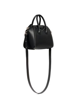 Figure View - Click To Enlarge - Givenchy - 'Antigona' mini stud border leather bag