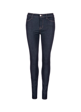 Main View - Click To Enlarge - J Brand - 'Maria' high rise skinny jeans