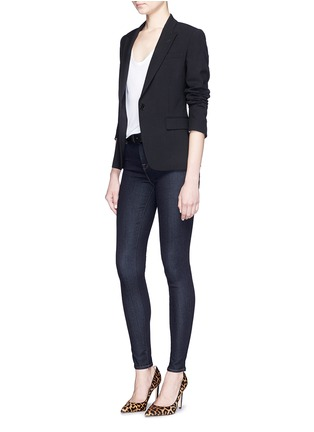 Figure View - Click To Enlarge - J Brand - 'Maria' high rise skinny jeans