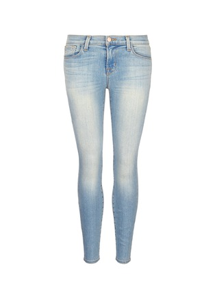 Main View - Click To Enlarge - J Brand - 'Capri' cropped skinny jeans