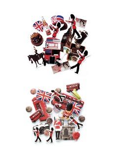 MARK ' S TOKYO EDGE Sticker zip pouch