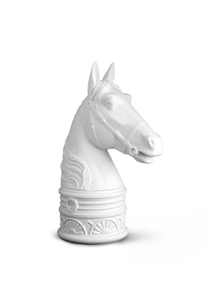 Main View - Click To Enlarge - L'Objet - Horse Bookend - White