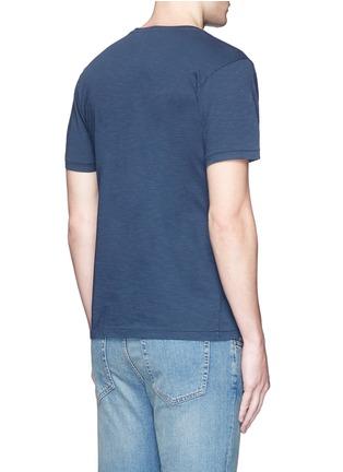Back View - Click To Enlarge - DENHAM - 'Daikanyama' print cotton T-shirt
