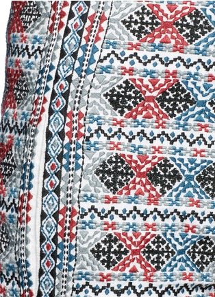 Detail View - Click To Enlarge - Talitha - Diamond embroidered shorts