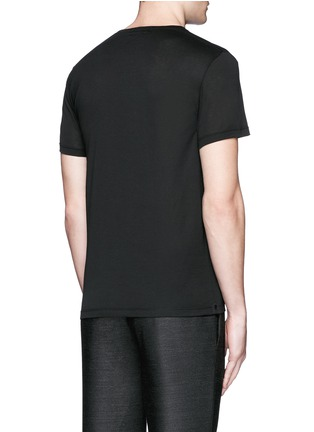 Back View - Click To Enlarge - Alexander McQueen - Skull print T-shirt