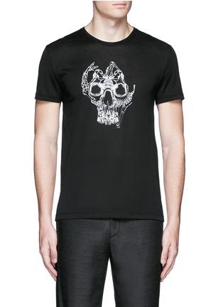 Main View - Click To Enlarge - Alexander McQueen - Skull print T-shirt