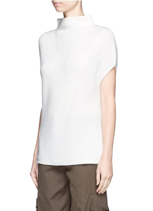 Front View - Click To Enlarge - Vince - Wool-cashmere sleeveless sweater
