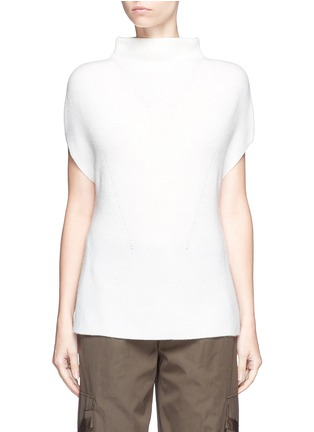 Main View - Click To Enlarge - Vince - Wool-cashmere sleeveless sweater