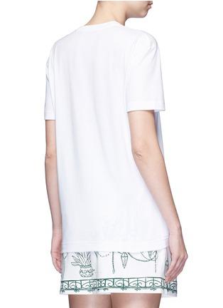 Back View - Click To Enlarge - Dolce & Gabbana - 'Ti Amo' lace slogan T-shirt