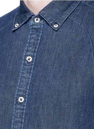 Detail View - Click To Enlarge - DENHAM - 'Rhys' denim shirt