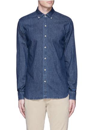 Main View - Click To Enlarge - DENHAM - 'Rhys' denim shirt