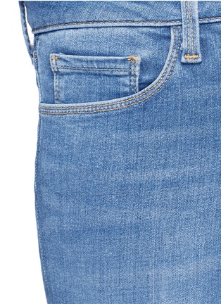 Detail View - Click To Enlarge - L'AGENCE - The Chantal' skinny denim ankle grazer pants