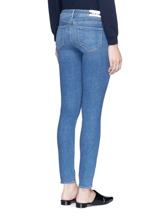 Back View - Click To Enlarge - L'Agence - The Chantal' skinny denim ankle grazer pants